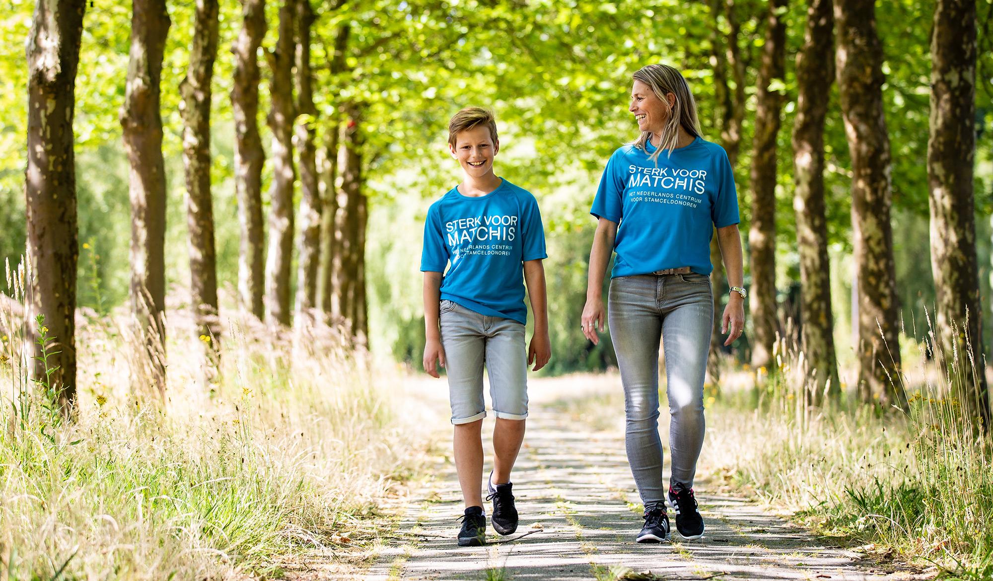 Billy loopt de Nijmeegse Vierdaagse voor meer stamceldonoren