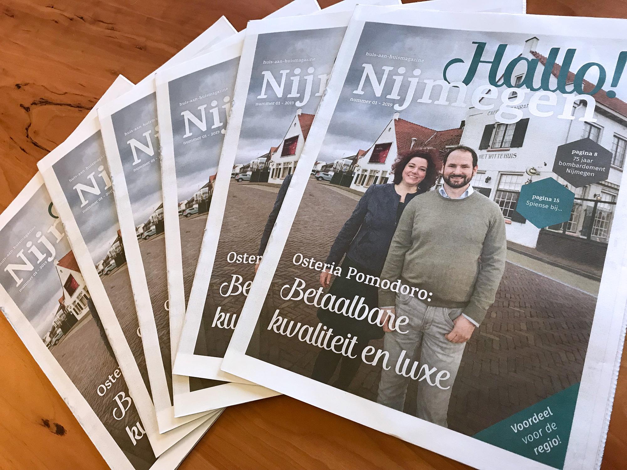Februari editie van Hallo! Nijmegen is uit!