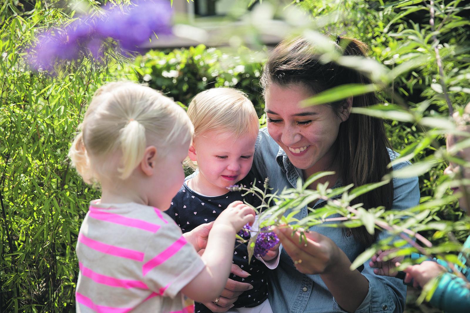 Kindergarden: Alle aandacht voor je kindje