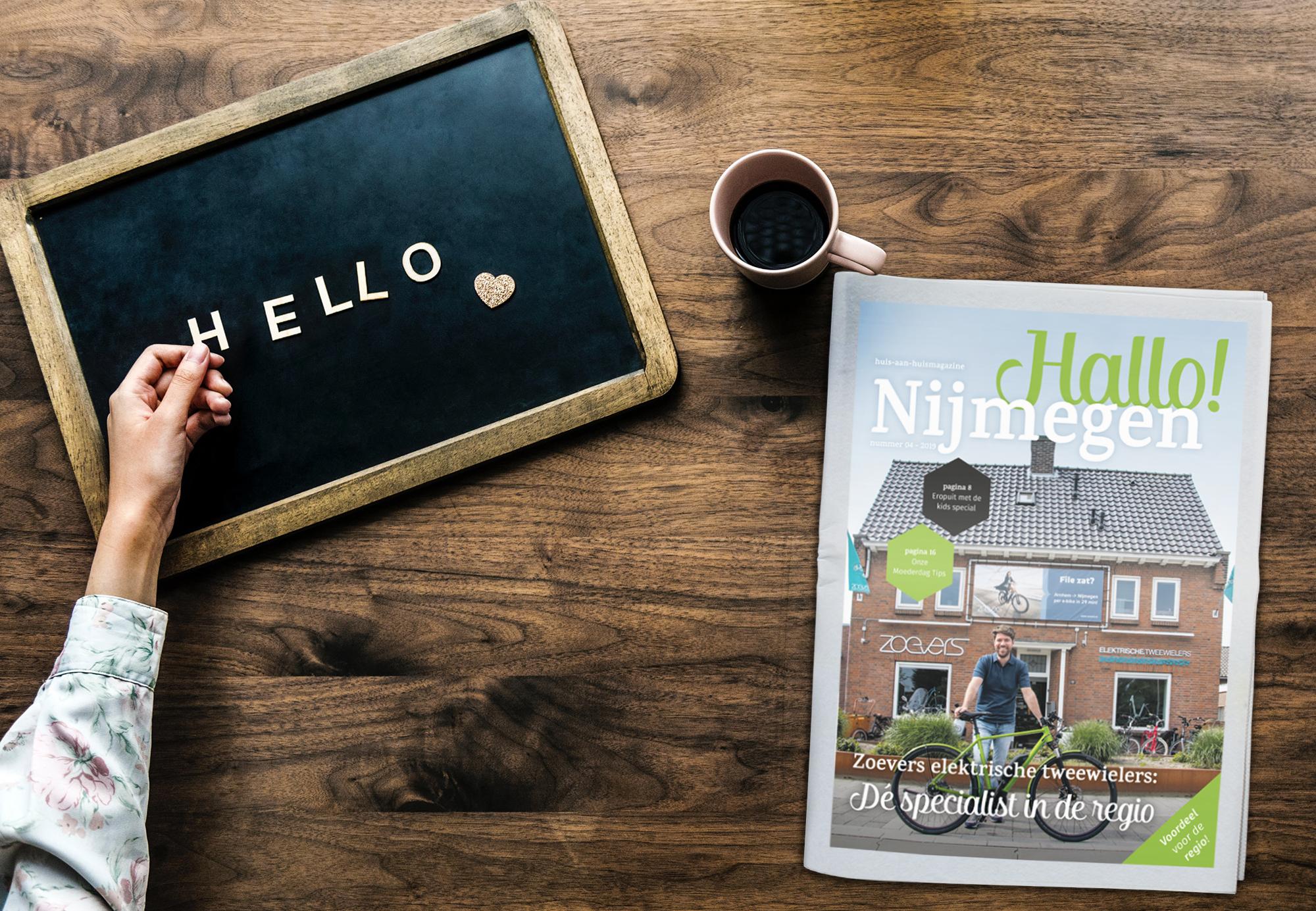 De mei editie van Hallo! Nijmegen is uit!