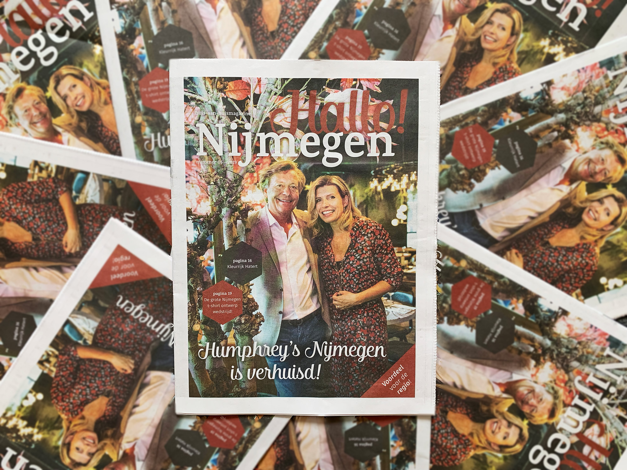 De juni editie van Hallo! Nijmegen is uit!