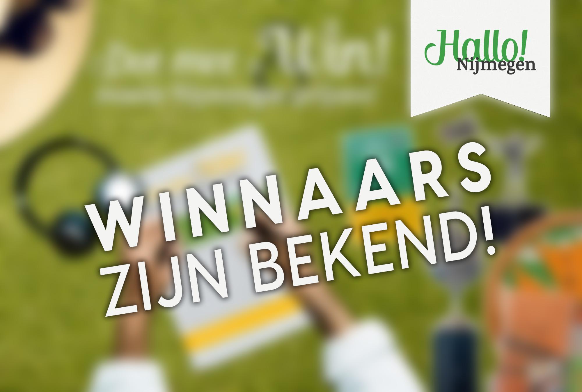 Winnaars woordzoeker Hallo! Nijmegen juli editie bekend