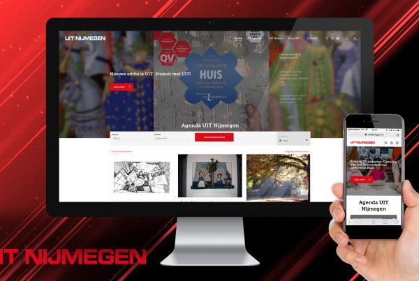 Agenda UIT Nijmegen nieuwe website