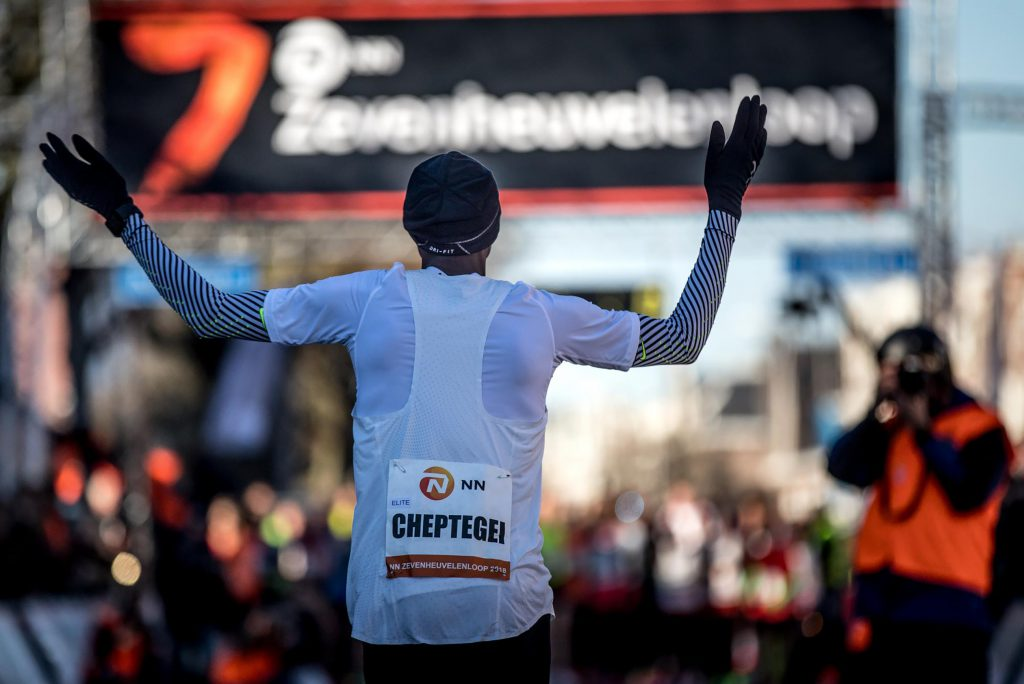 NN Zevenheuvelenloop decor voor eerste Nederlands Kampioenschap Running Blind