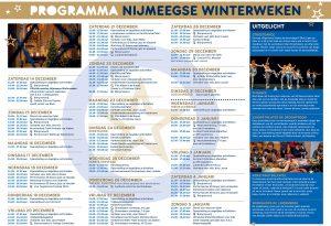 Nijmeegse Winterweken programma