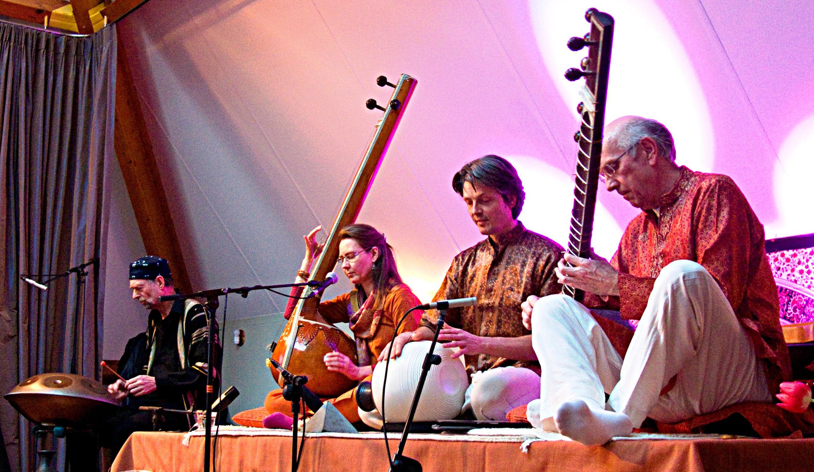 Wereldmuziek van Jugalbandi in Sarvata.