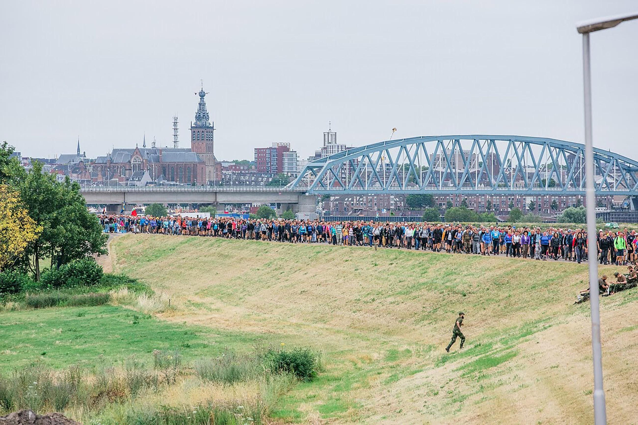 104de Internationale Vierdaagse Afstandsmarsen Nijmegen: Sneller duidelijkheid voor deelnemers door eenvoudiger inschrijfprocedure