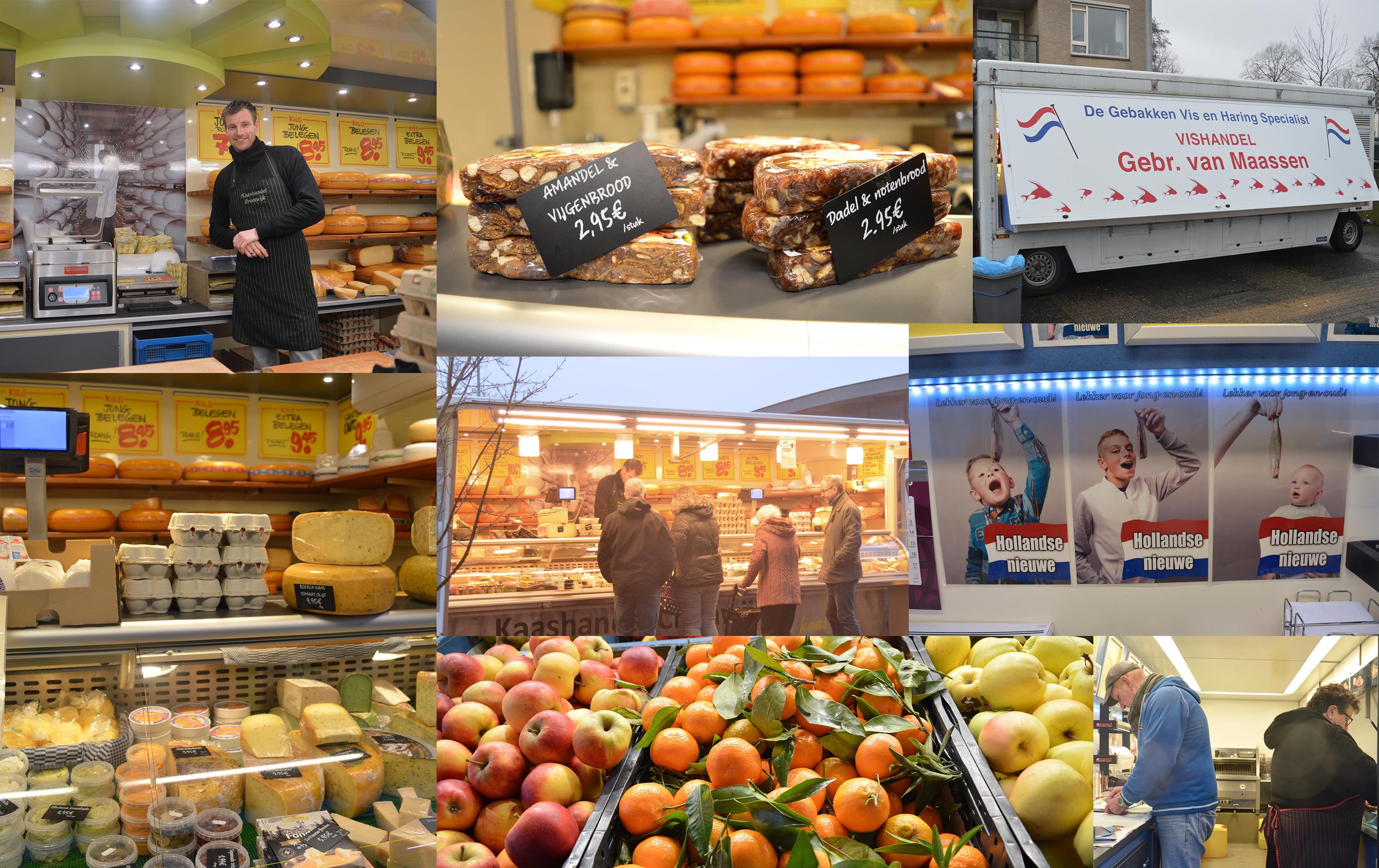 Op de markt in Leuvensbroek