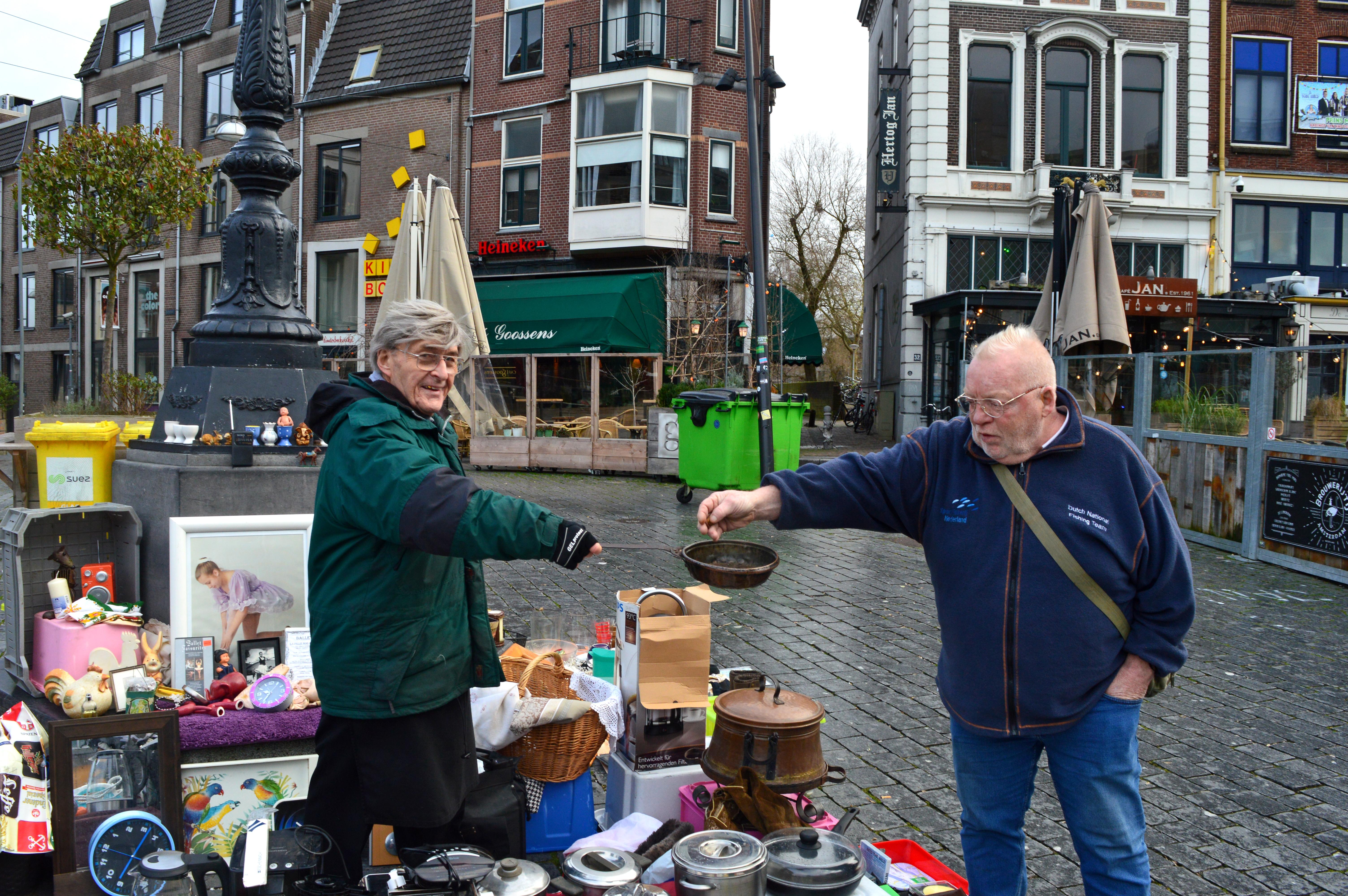Markt centrum Nijmegen