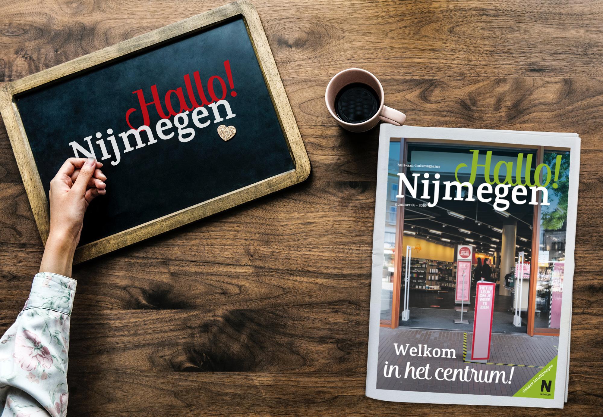 Het juni nummer van Hallo! Nijmegen is uit!