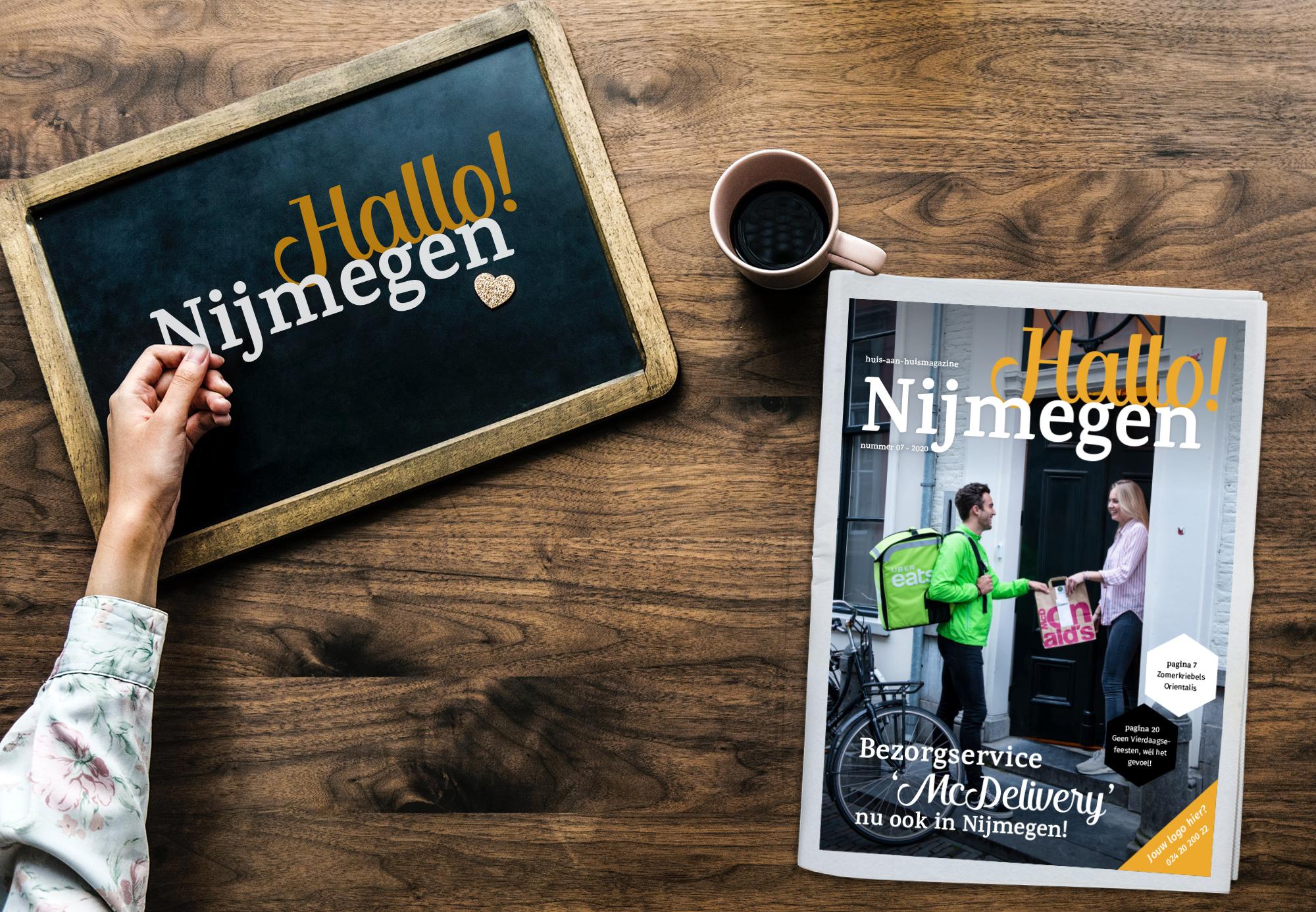 Hallo! Juli! Daar is een nieuwe Hallo! Nijmegen!