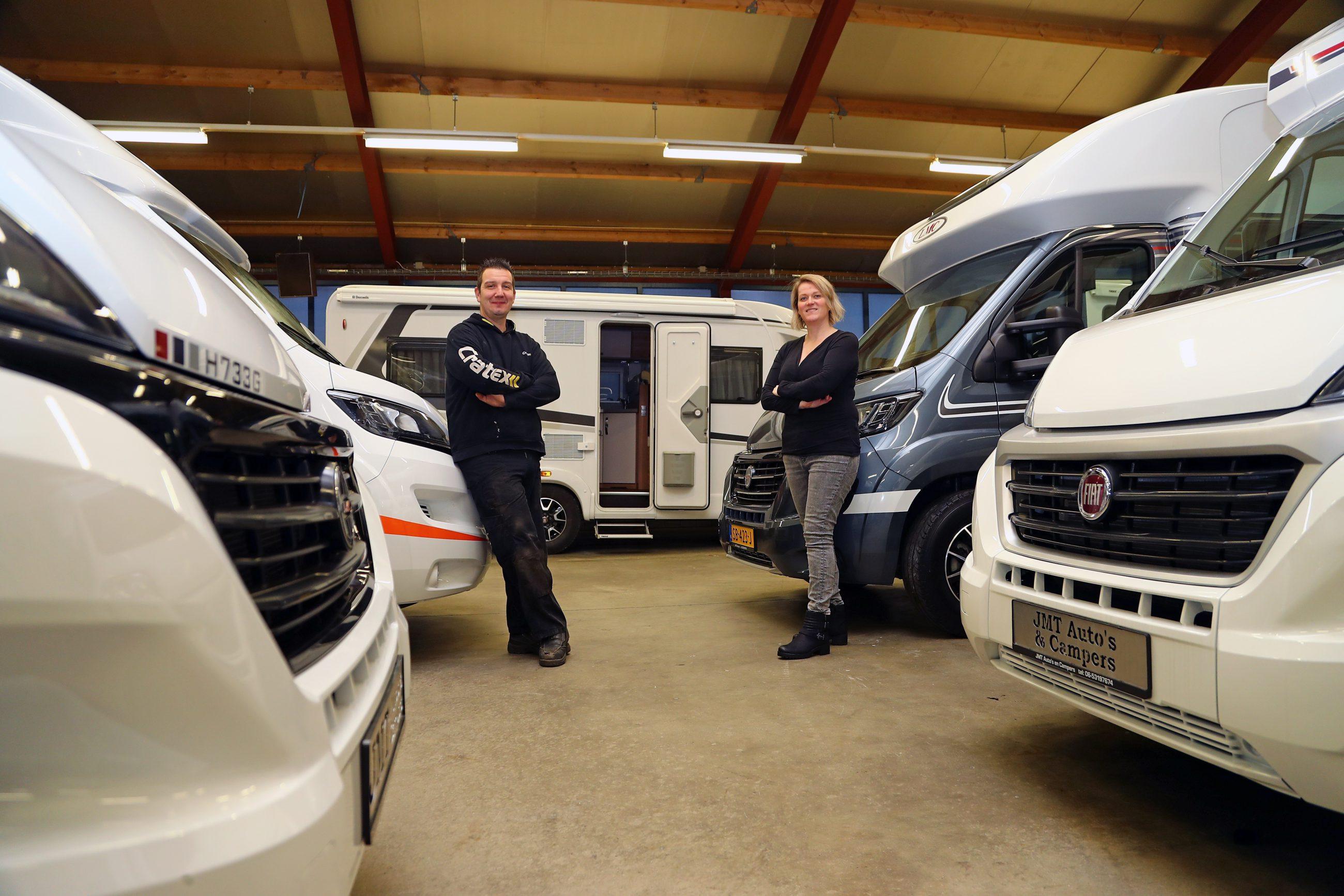 JMT Auto's & Campers is verhuisd: Voortaan beginnen je vakantiekriebels in Wijchen!