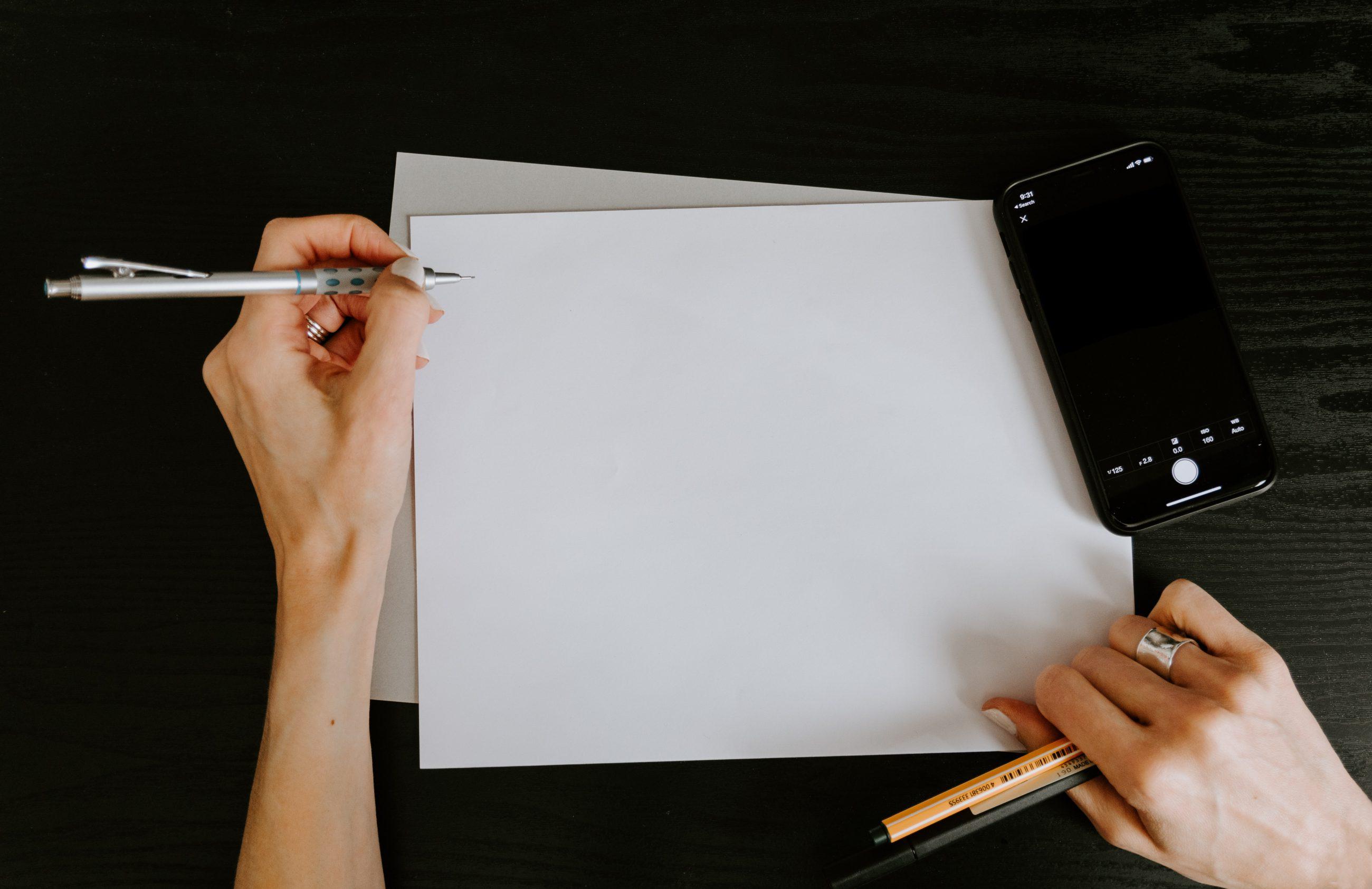 Een goede pen is je rechter hand – ook als je linkshandig bent!